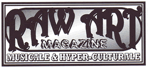 logo raw art zine